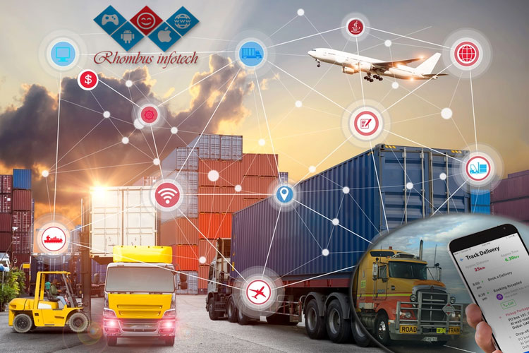 benefits solutions of using IoT in transpotation logistics
